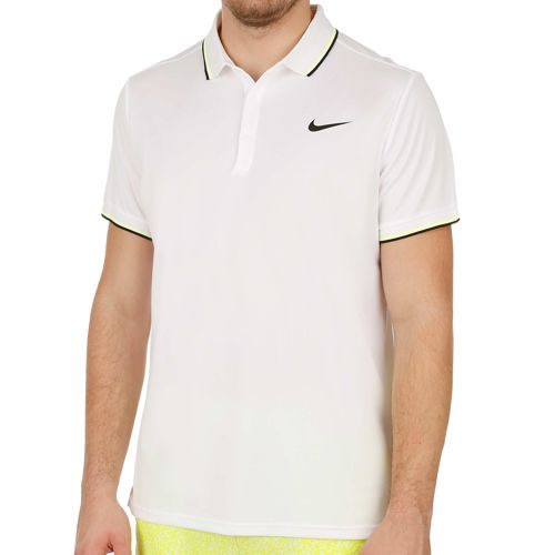 Nike Court Polo Men - White, Black