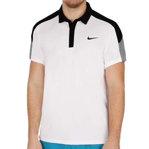 Nike Team Court Polo Men - White, Black