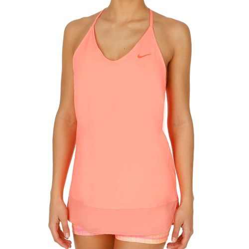 Nike Serena Williams Slam Tunic Dress Women - Neon Orange