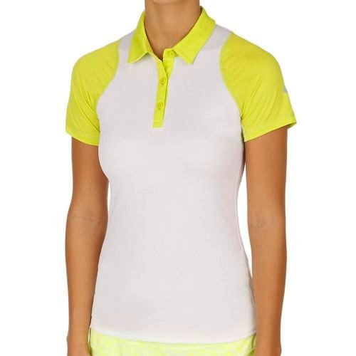 Nike Sphere Shortsleeve Polo Women - White, Light Green