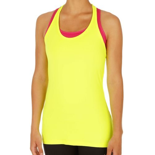 Nike Training Get Fit Top Women - Neon Yellow