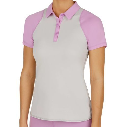 Nike Sphere Shortsleeve Polo Women - Grey, Lilac
