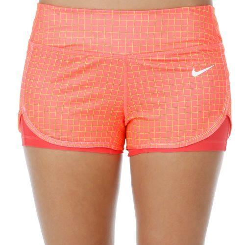 Nike Court Printed Shorts Women - Coral