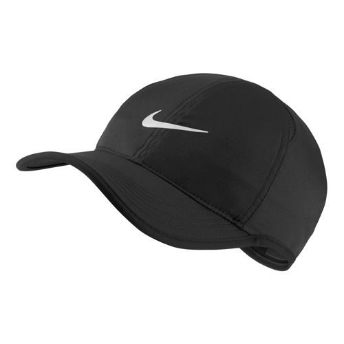 Nike Featherlight Cap - Black, White