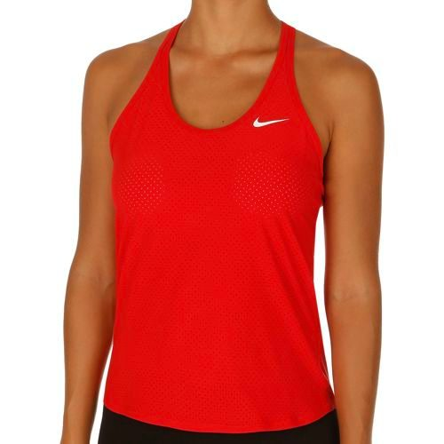 Nike Victoria Azarenka Advantage Slam Breathe Tank Top Women - Red, White
