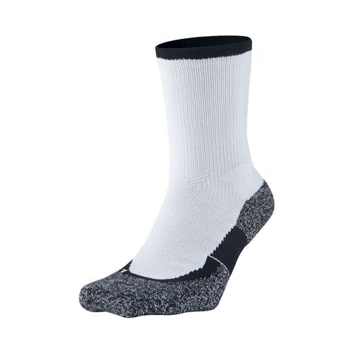 Nike Elite Tennis Crew Sports Socks - White, Black