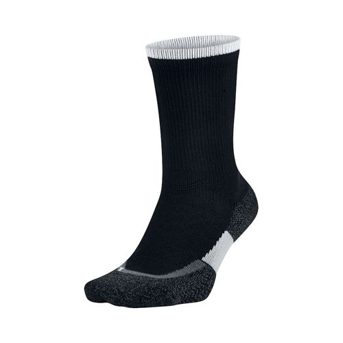 Nike Elite Tennis Crew Sports Socks - Black, White