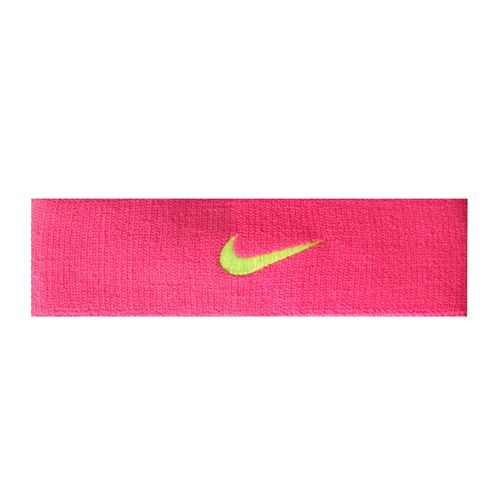 Nike Head Band - Pink, Neon Yellow