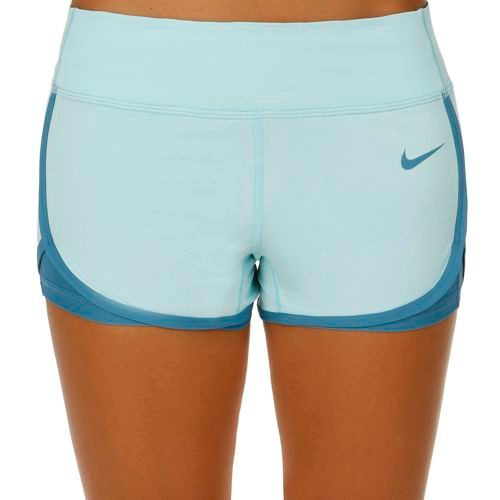 Nike Ace Court Shorts Women - Light Blue, Blue