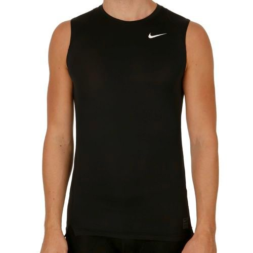 Nike Pro Dry Fit Compression Top Sleeveless Men - Black, Grey