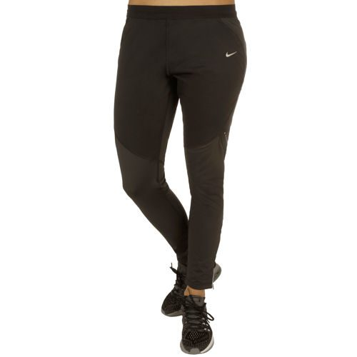 Nike Shield Tight Training Pants Women - Black, Silver