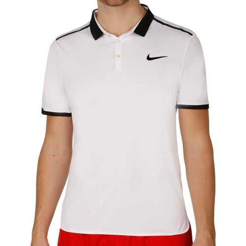 Nike Advantage Advantage Solid Polo Men - White, Black