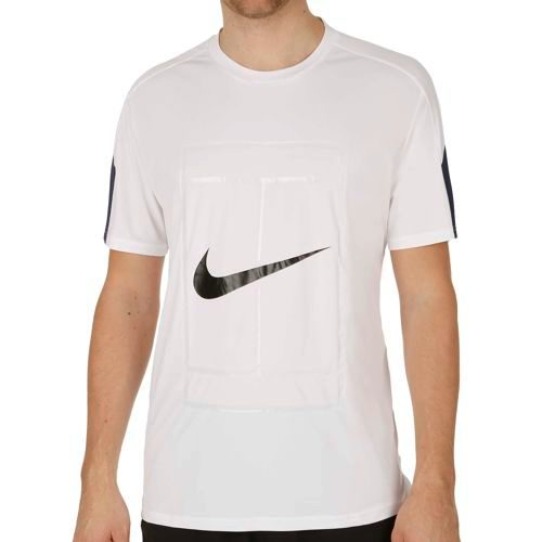 Nike Court Graphic Crew T-Shirt Men - White, Black