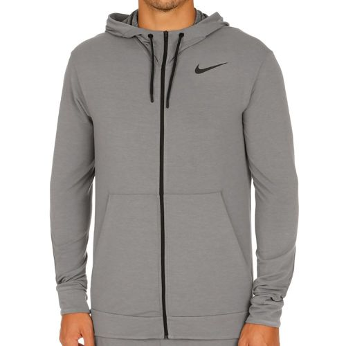 Nike Dri-FIT Fleece Full-Zip Fleece Jacket Men - Grey, Black
