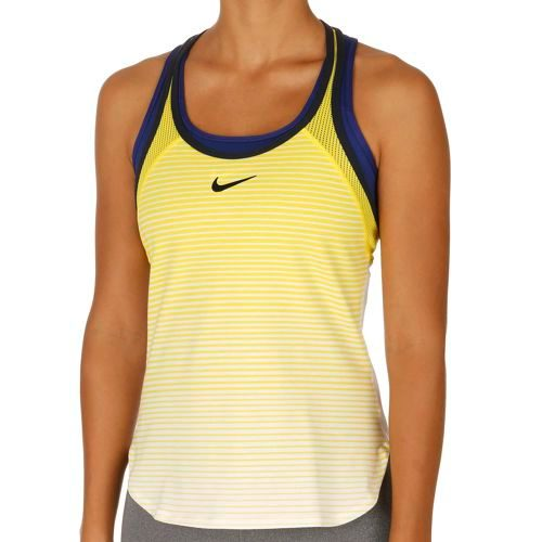 Nike Premier Slam Premier Slam Breathe Tank Top Women - Yellow, White