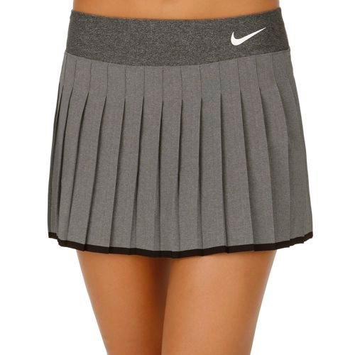 Nike Advantage Victory Skirt Women - Anthracite, White