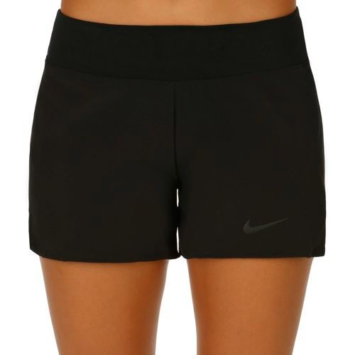 Nike Baseline Long Shorts Women - Black