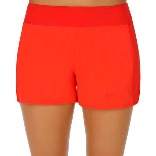 Nike Baseline Long Shorts Women - Red