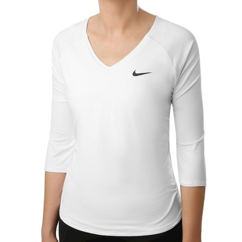 Nike Pure 3/4 Long Sleeve Women - White, Black