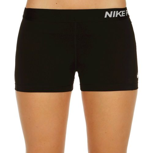 "Nike Pro Dry Fit 3"" Shorts Women - Black, White"