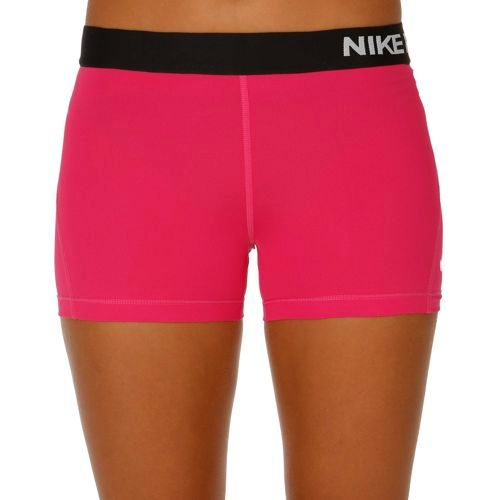 "Nike Pro Dry Fit 3"" Shorts Women - Pink, Black"