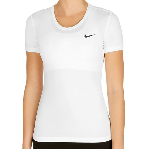 Nike Pro Cool T-Shirt Women - White, Black