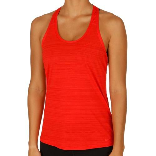 Nike Training Victory 2in1 Tank Top Women - Red, Black