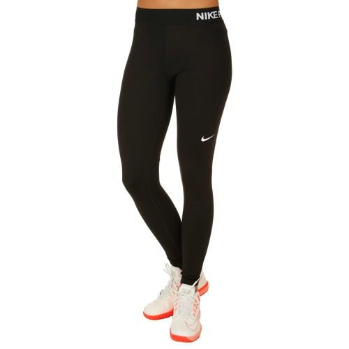Nike Pro Dry Fit Tight Training Pants Women - Black, White