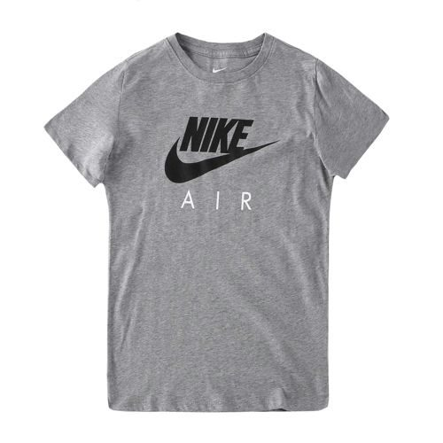 Nike Air Crew T-Shirt Boys - Lightgrey, Black