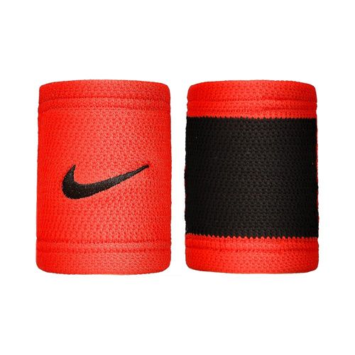 Nike Dri-Fit Stealth (2er Pack) Wristband 2 Pack - Red, Black