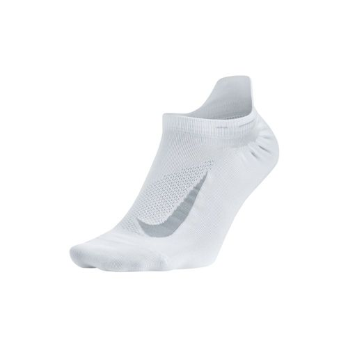 Nike Elite Lightweight No-Show Tab Sports Socks - White, Grey