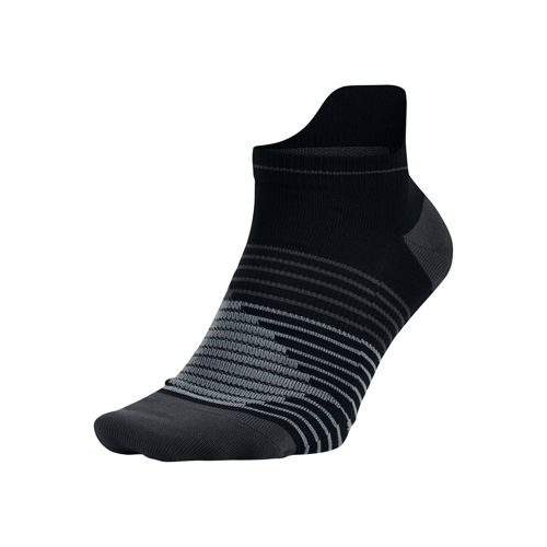 Nike Dri-FIT Lightweight No-Show Sports Socks - Black, Grey