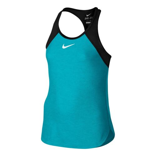 Nike Advantage Slam Tank Top Girls - Light Blue, Black