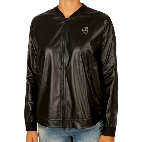 Nike Court Sportswear Training Jacket Women - Black, White