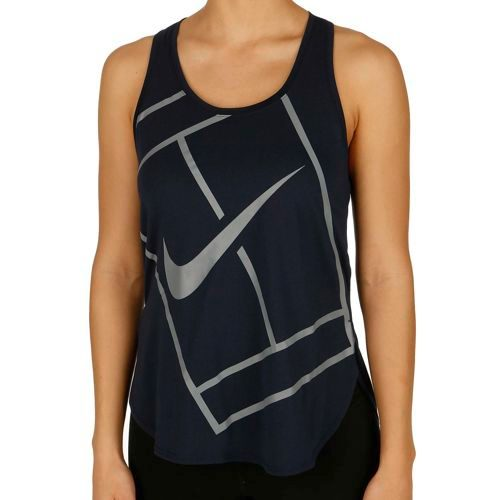 Nike Baseline Tank Top Women - Dark Blue