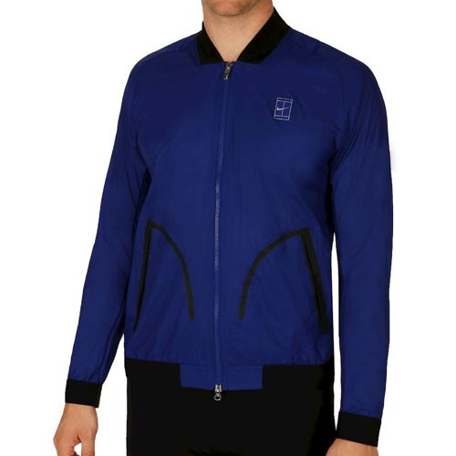 Nike Court Sportswear Bomber Training Jacket Men - Dark Blue, Black