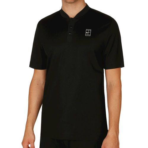 Nike Court Polo Men - Black, White