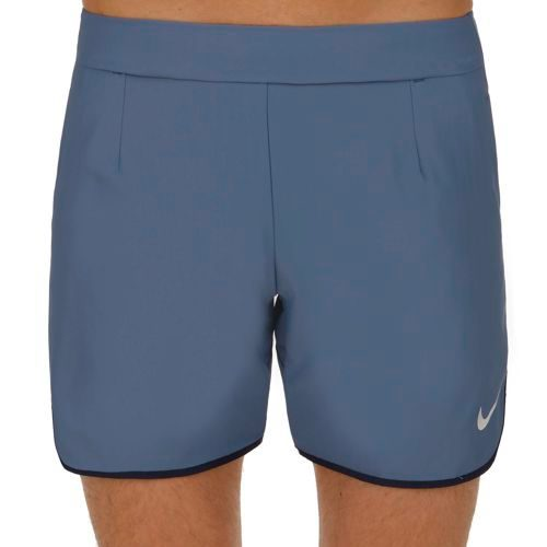 "Nike Roger Federer Gladiator Premier 7"" Shorts Men - Grey, Dark Blue"
