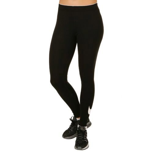 Nike Sportswear Swoosh Tight Women - Black, White