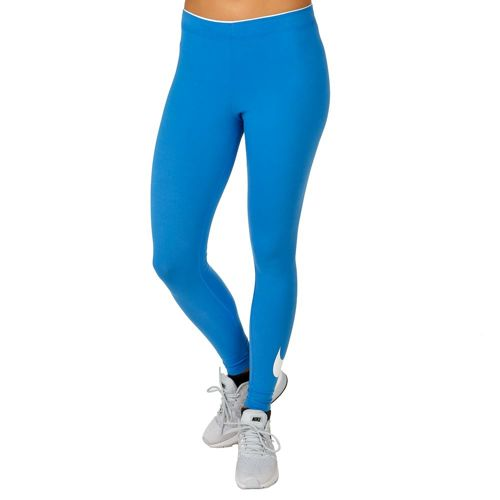 Nike Club Logo Leggings Women - Light Blue, White