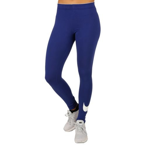 Nike Club Logo Leggings Women - Dark Blue, White