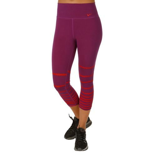 Nike Legend Poly Burnout Tight Women - Violet, Red