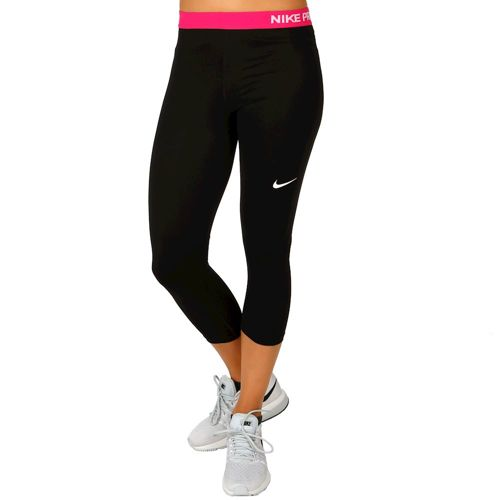 Nike Pro Dry Fit Capri Pants Women - Black, Pink