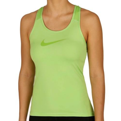 Nike Pro Dry Fit Tank Top Women - Green