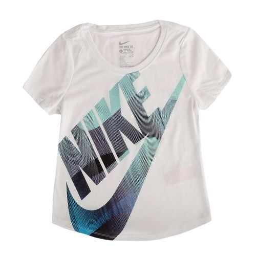 Nike Statement T-Shirt Girls - White, Red