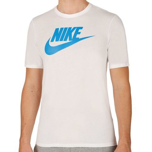 Nike Futura Icon T-Shirt Men - White, Light Blue