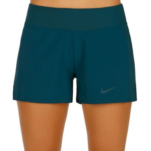 Nike Baseline Long Shorts Women - Petrol