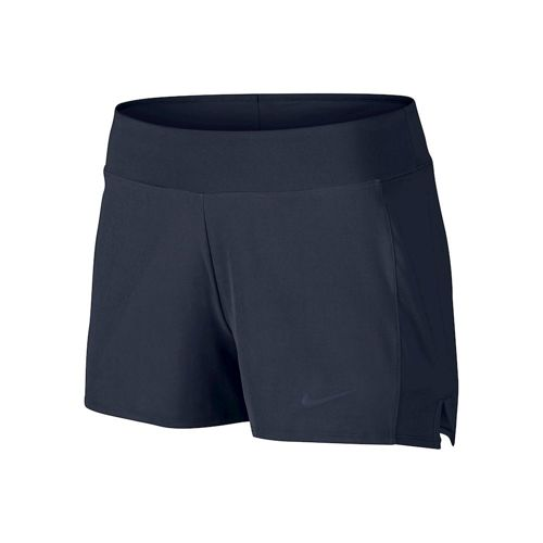 Nike Baseline Long Shorts Women - Dark Blue