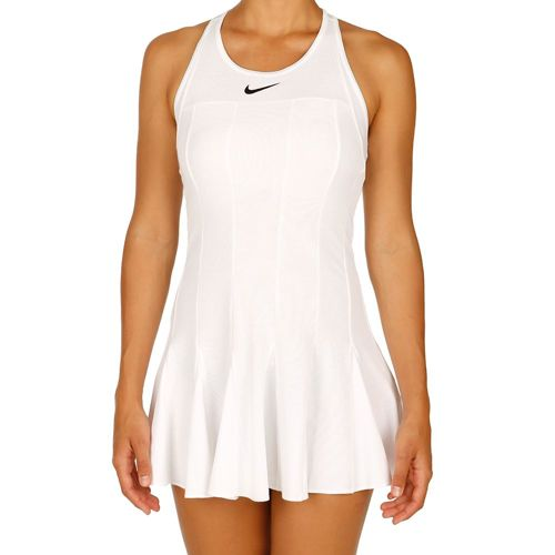 Nike Advantage Premier Dress Women - White, Black
