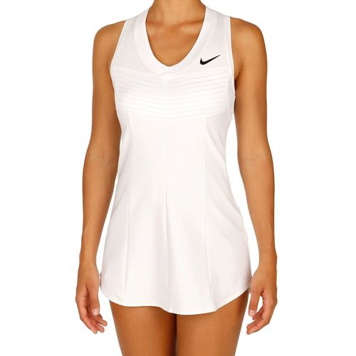 Nike Advantage Premier SW19 Dress Women - White, Black